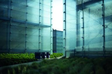 3 Szklane bryły doświetlające wnętrze muzeum, fot. Witalis Szołtys